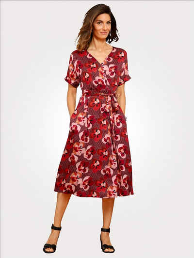 Mona Sommerkleid in attraktiver Wickeloptik