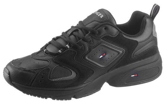 TOMMY JEANS »HERITAGE SEASONAL SNEAKER« Sneaker im Materialmix