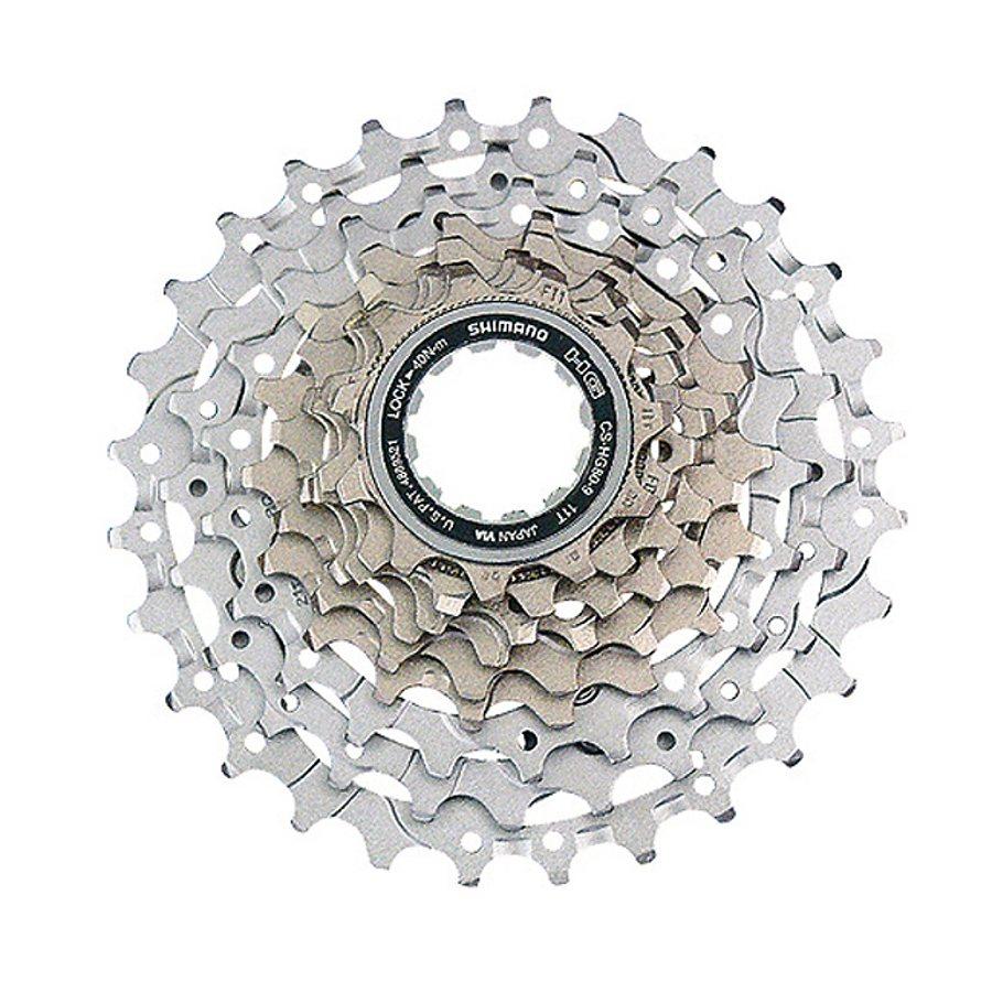 Shimano Fahrradkasetten »CS-HG80 Kassette 9-fach, 11-34 Zähne«
