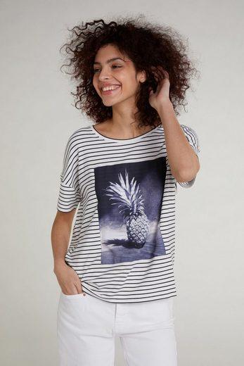Oui T-Shirt »T-Shirt mit Fotodruck«
