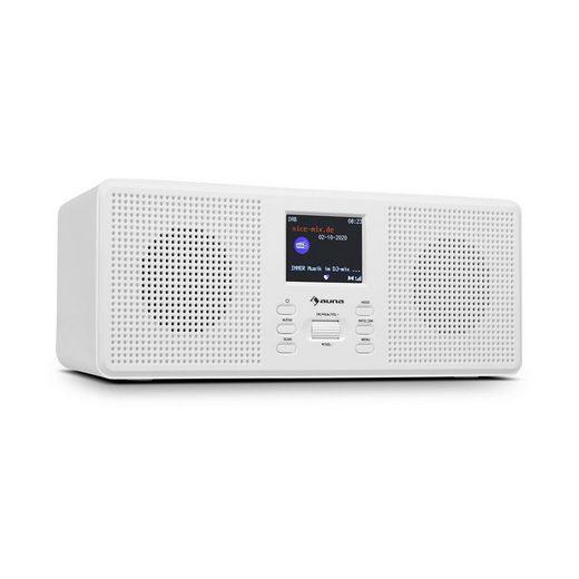 "Auna »Commuter ST DAB+/FM Radio USB AUX 2.4"" TFT-Display Fernbedienung« Radio"