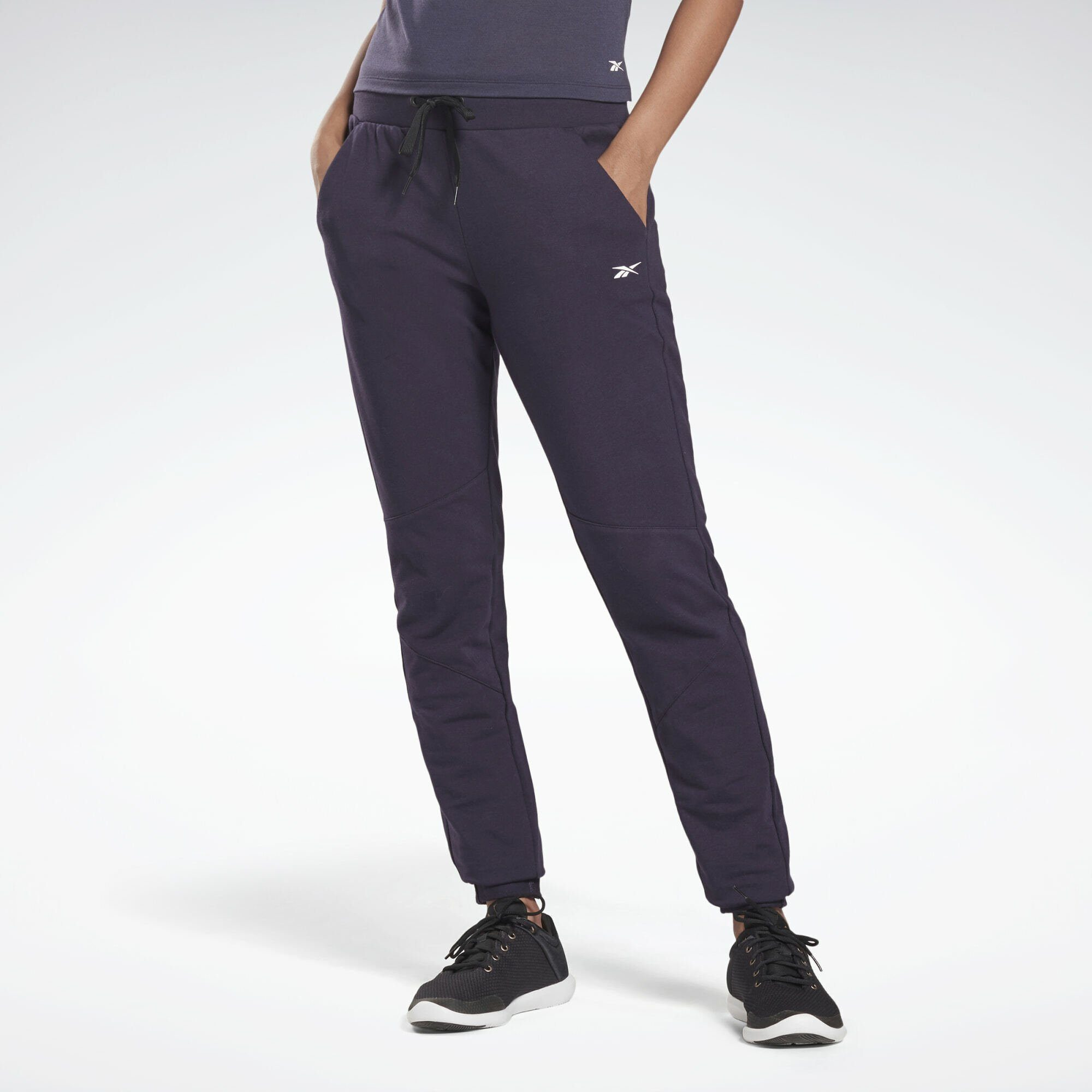 Reebok Sporthose LES MILLS® Joggers, French Terry aus 95% Baumwolle / 5% Elasthan