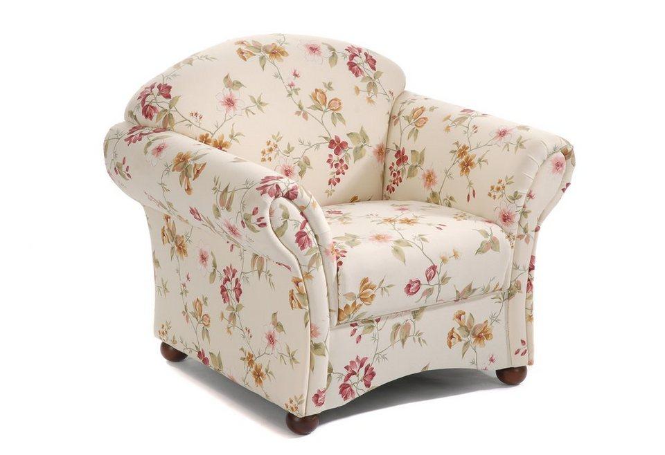 max winzer blumensessel carolina im romantischen look online kaufen otto. Black Bedroom Furniture Sets. Home Design Ideas