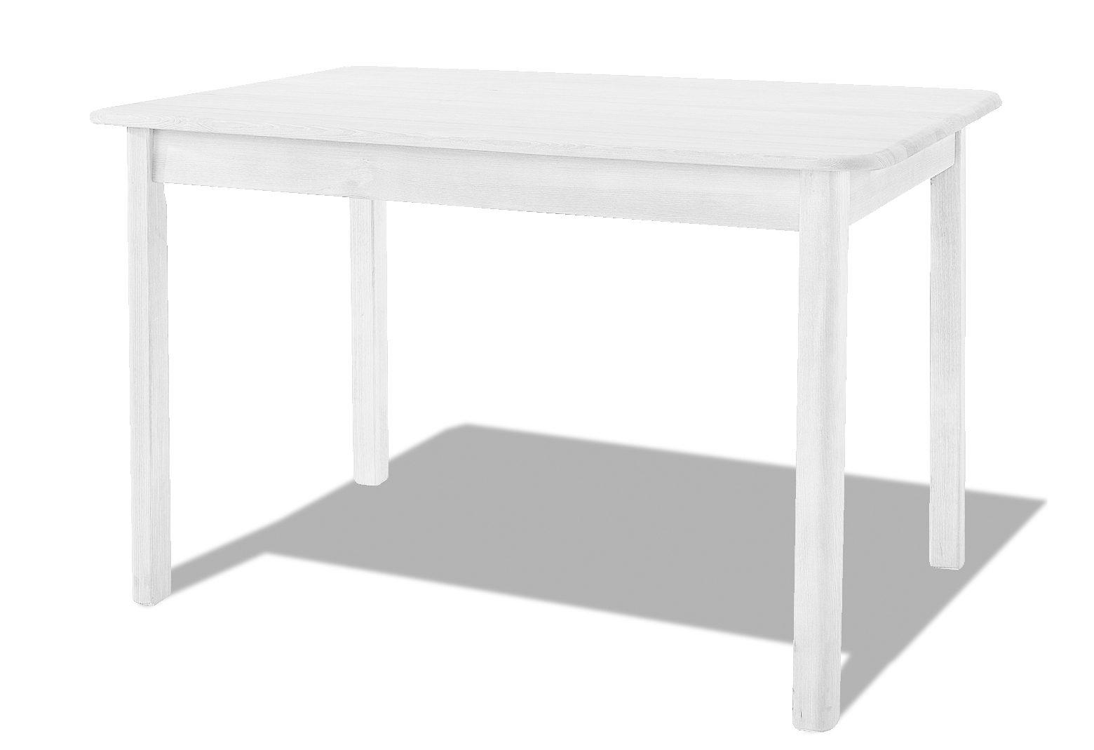 Esstisch »Bianca«, der Marke Home affaire, aus massivem Kiefernholz, mit abgerundeter Tischplattenkante