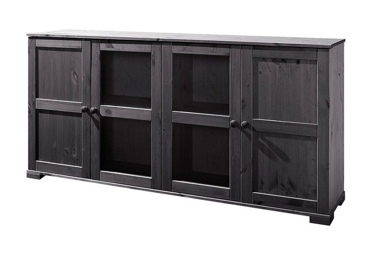 sideboard home affaire breite 166 cm h he 79 cm otto. Black Bedroom Furniture Sets. Home Design Ideas