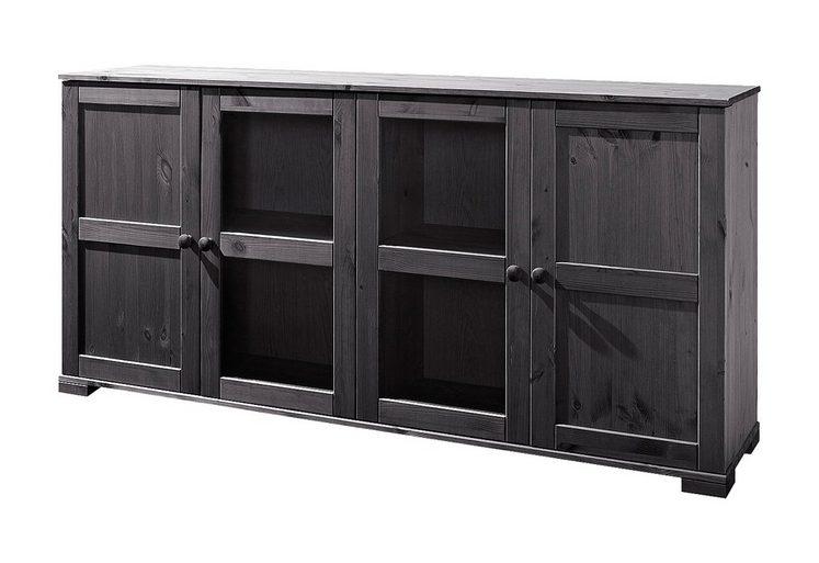 sideboard home affaire breite 166 cm h he 79 cm otto. Black Bedroom Furniture Sets. Home Design Ideas
