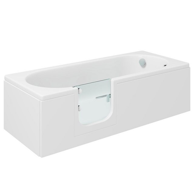 Badewannen und Whirlpools - HAK Badewanne »CASCADE, Badewanne mit Tür«, 169,5x70 cm, links  - Onlineshop OTTO