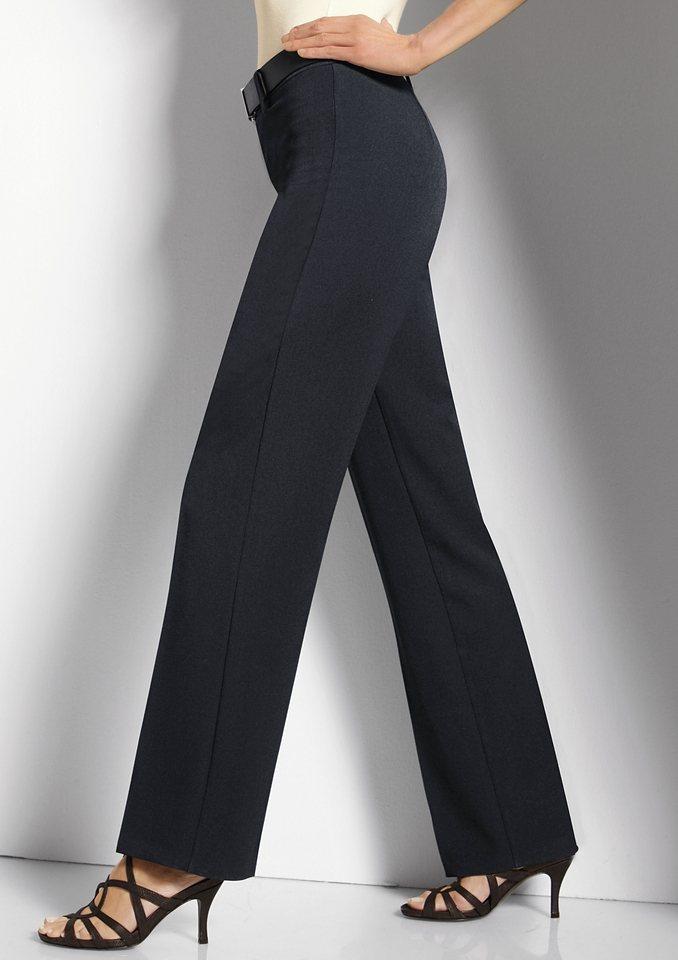 Cosma Hose mit Form-Funktion in schwarz