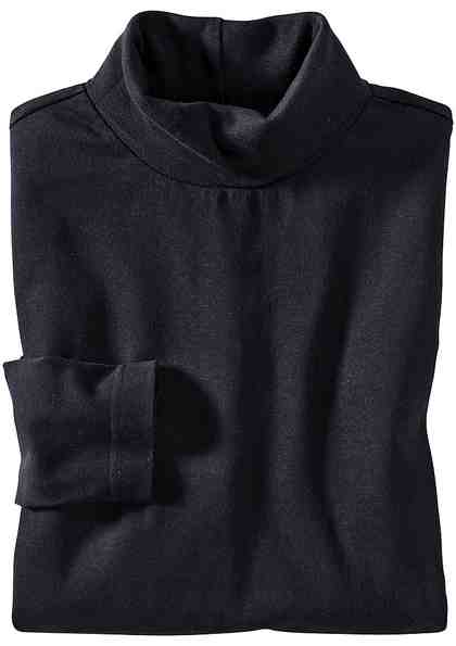 Classic Basics Shirt mit Rollkragen