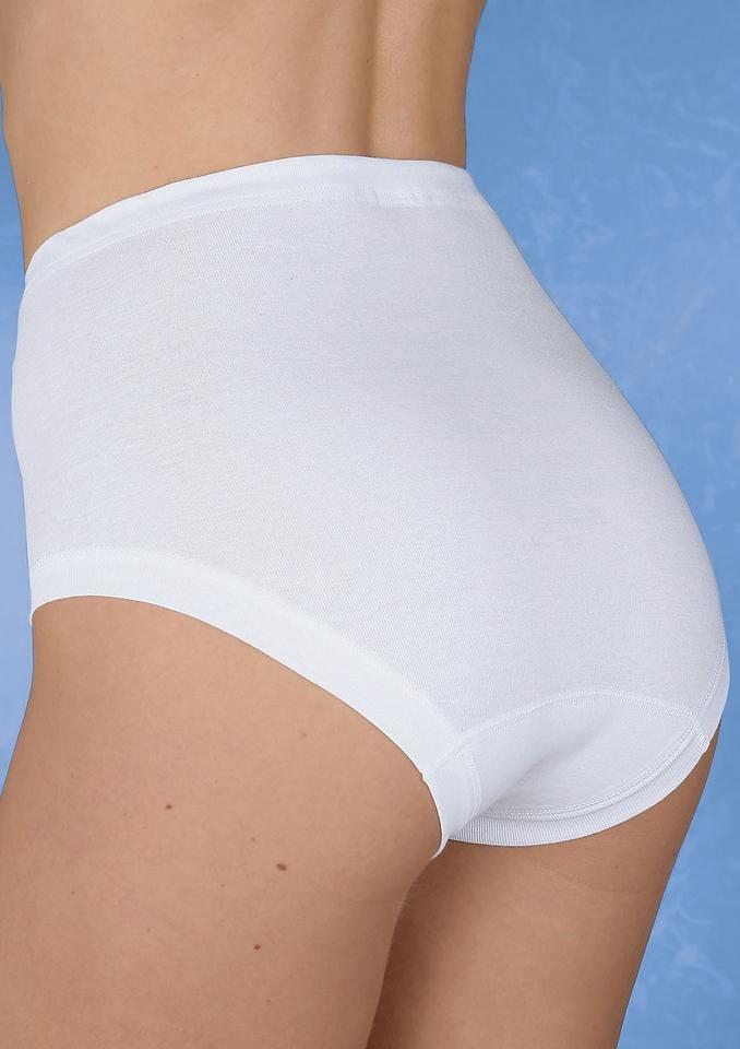 Taillenslip, Schöller in weiß