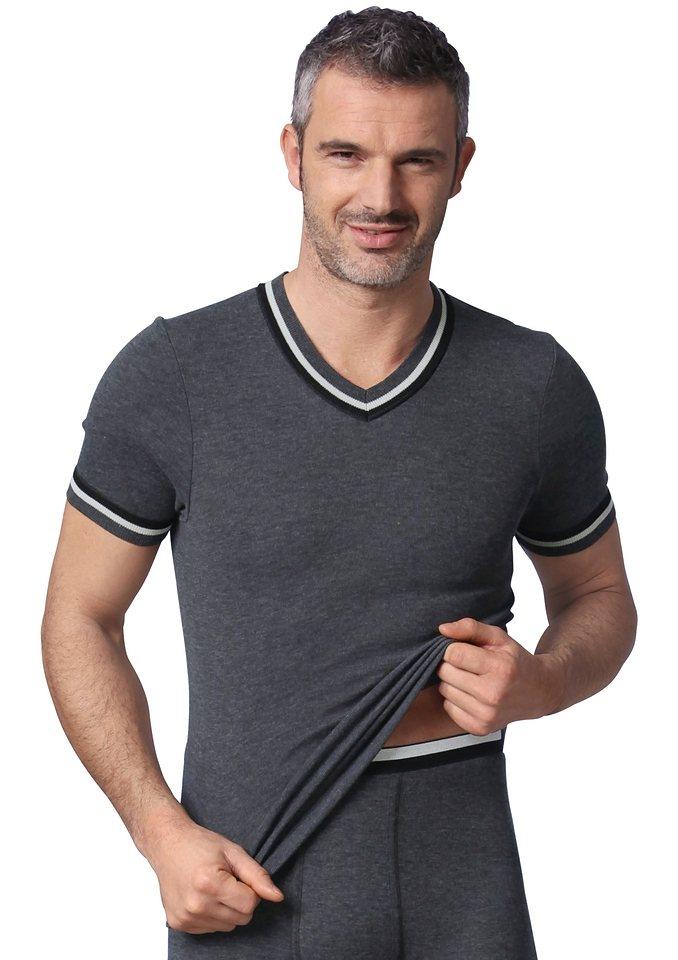 Unterhemd (2 Stck.) in jeansblau