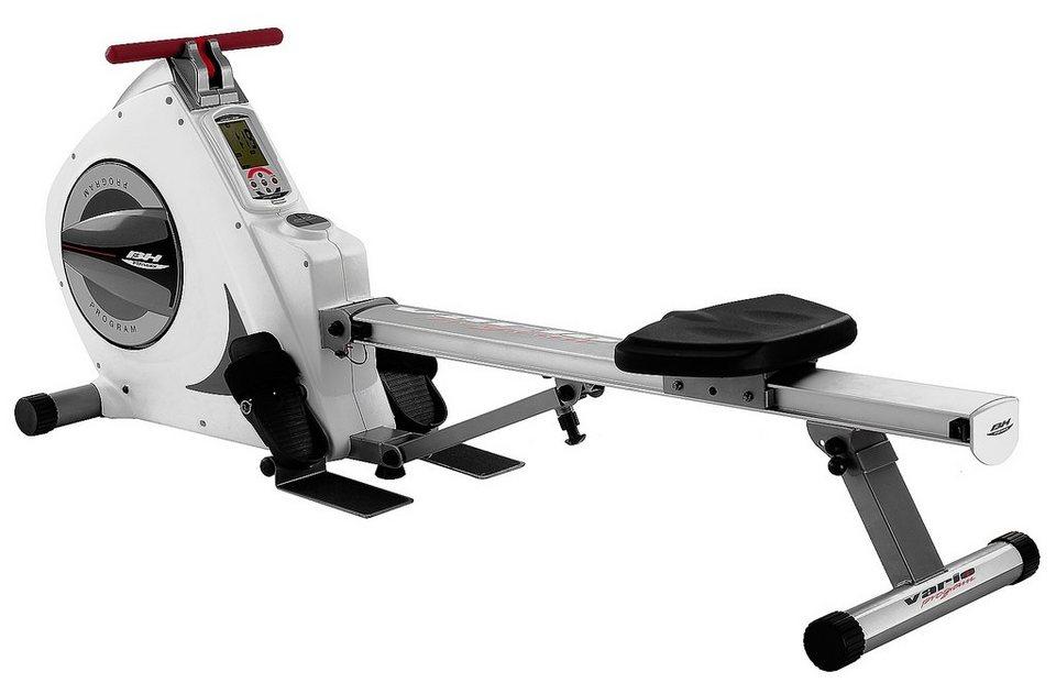 BH Fitness Rudergerät Vario Program in weiß-grau
