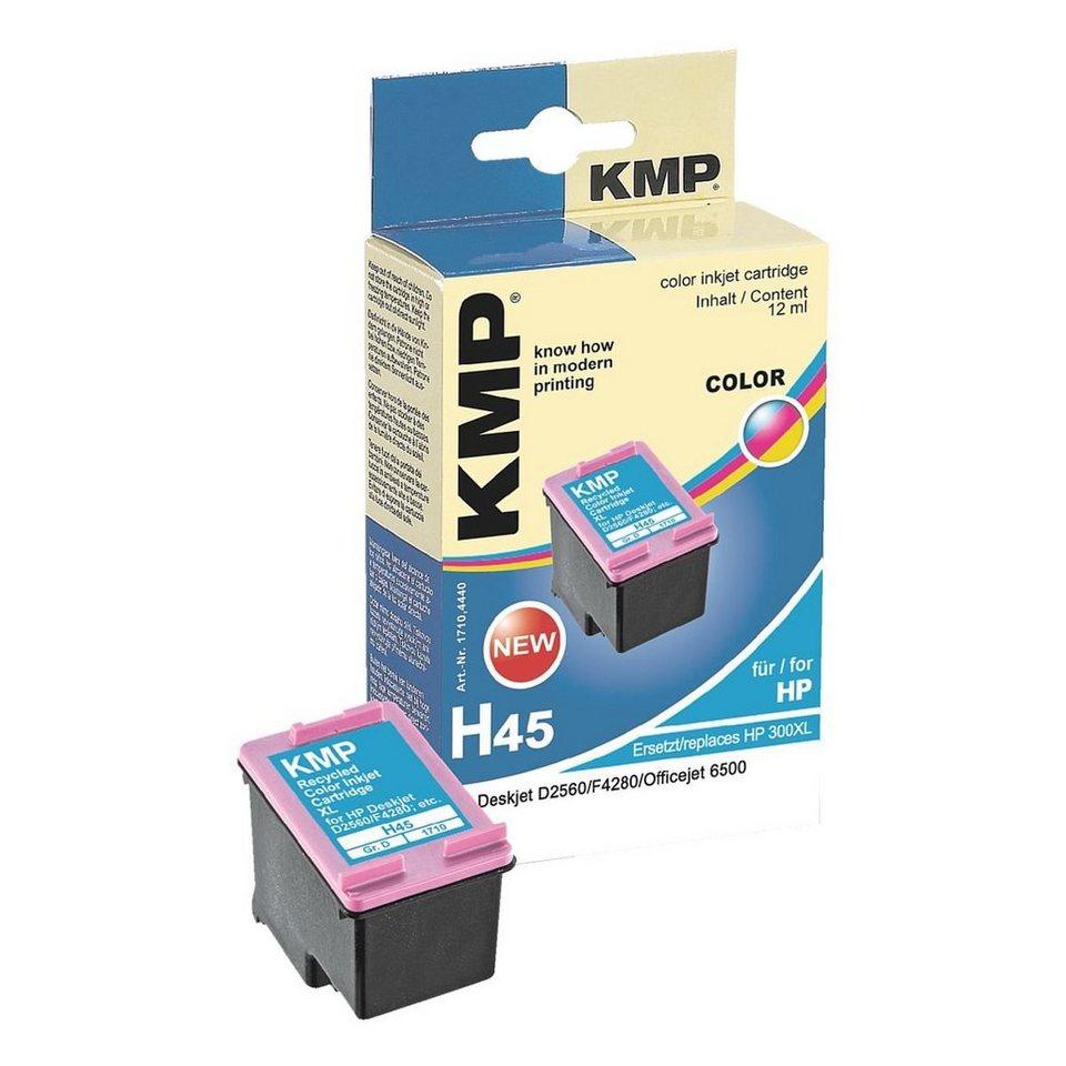 KMP Tintenpatrone ersetzt HP »CC644EE« Nr. 300XL