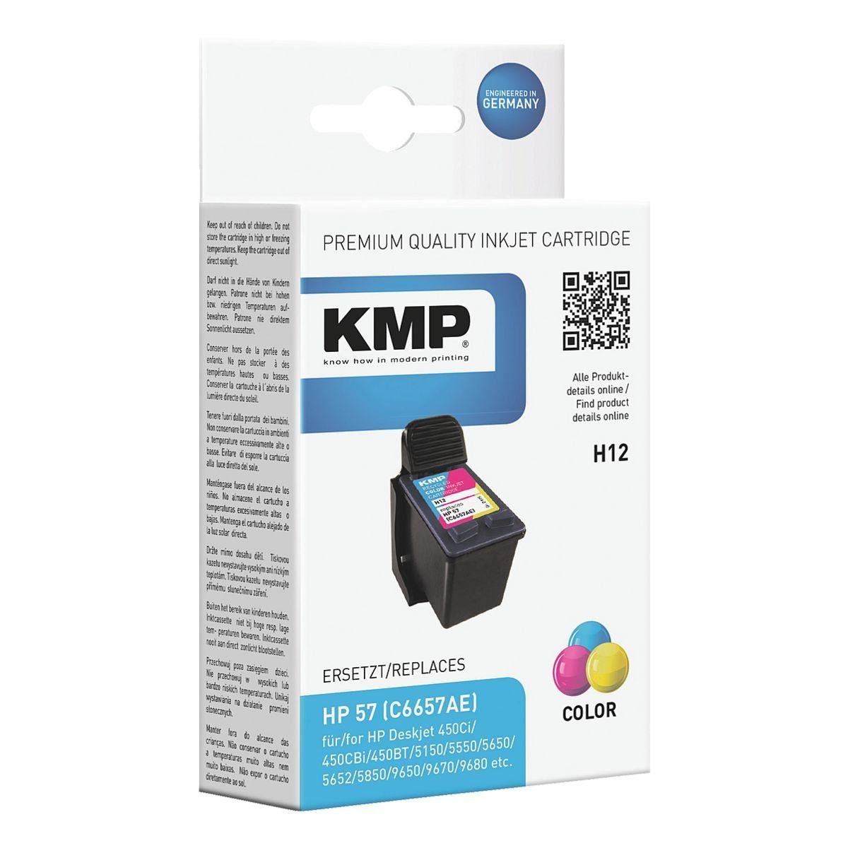 KMP Tintenpatrone ersetzt HP »Q7942AE« Nr. 57