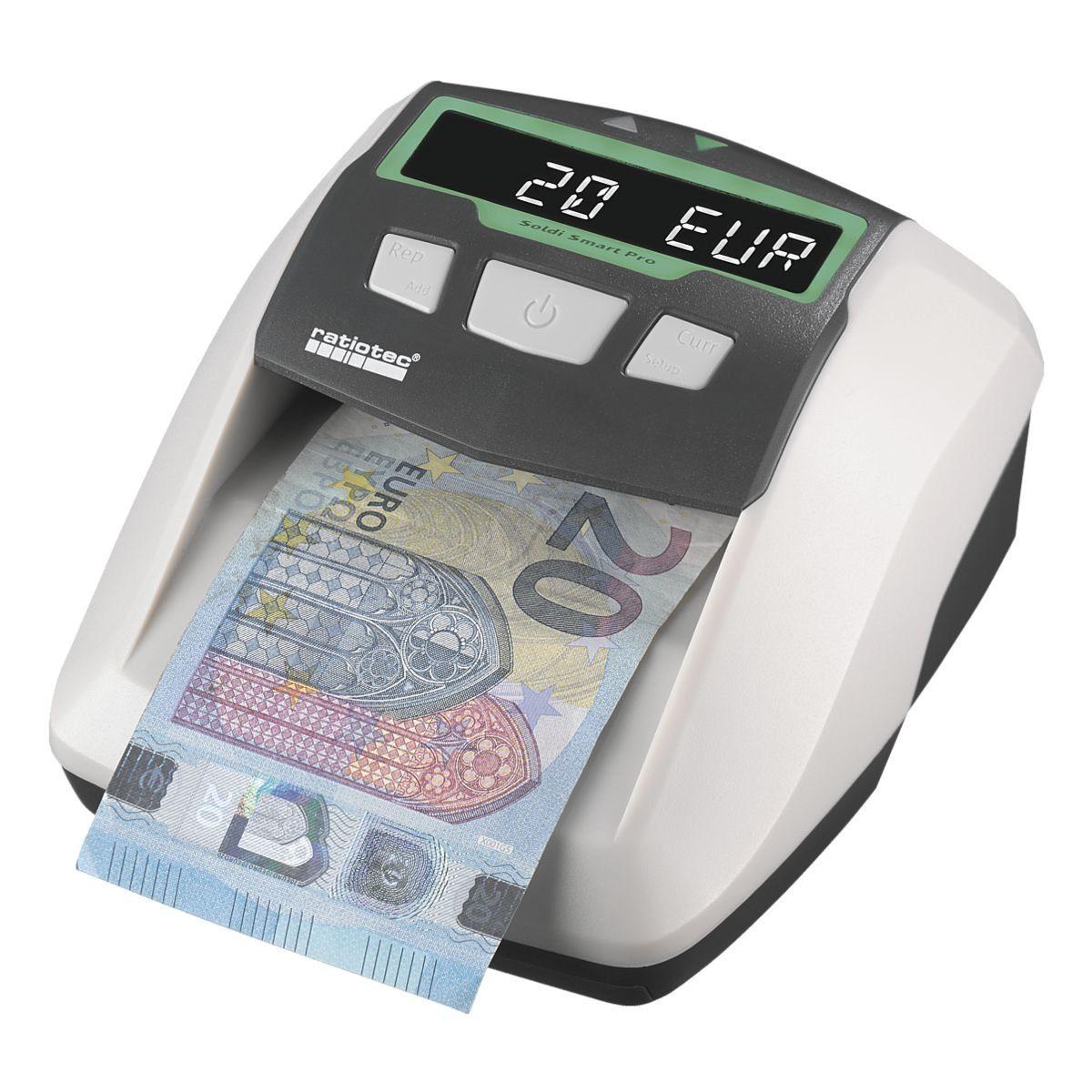 ratiotec Banknotenprüfgerät »Soldi Smart Pro« inkl...