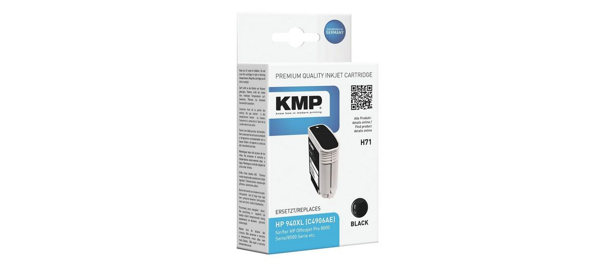 KMP Tintenpatrone ersetzt HP »C4906AE« Nr. 940XL