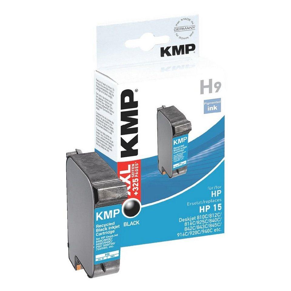 KMP Tintenpatrone ersetzt HP »C6615DE« Nr. 15