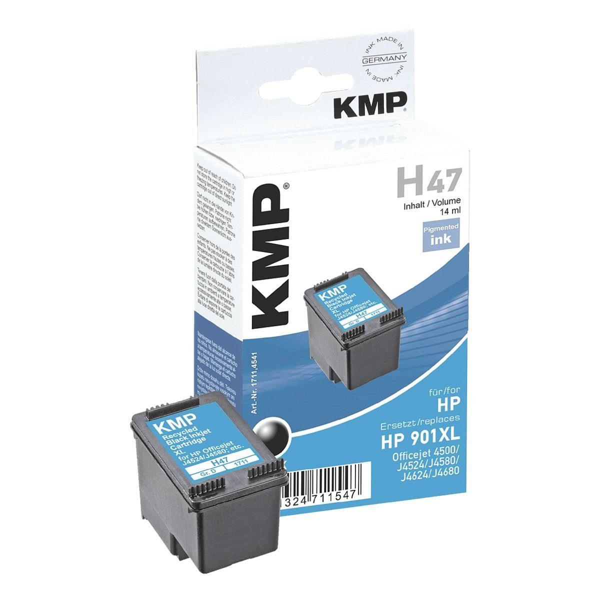 KMP Tintenpatrone ersetzt HP »CC654AE« Nr. 901XL
