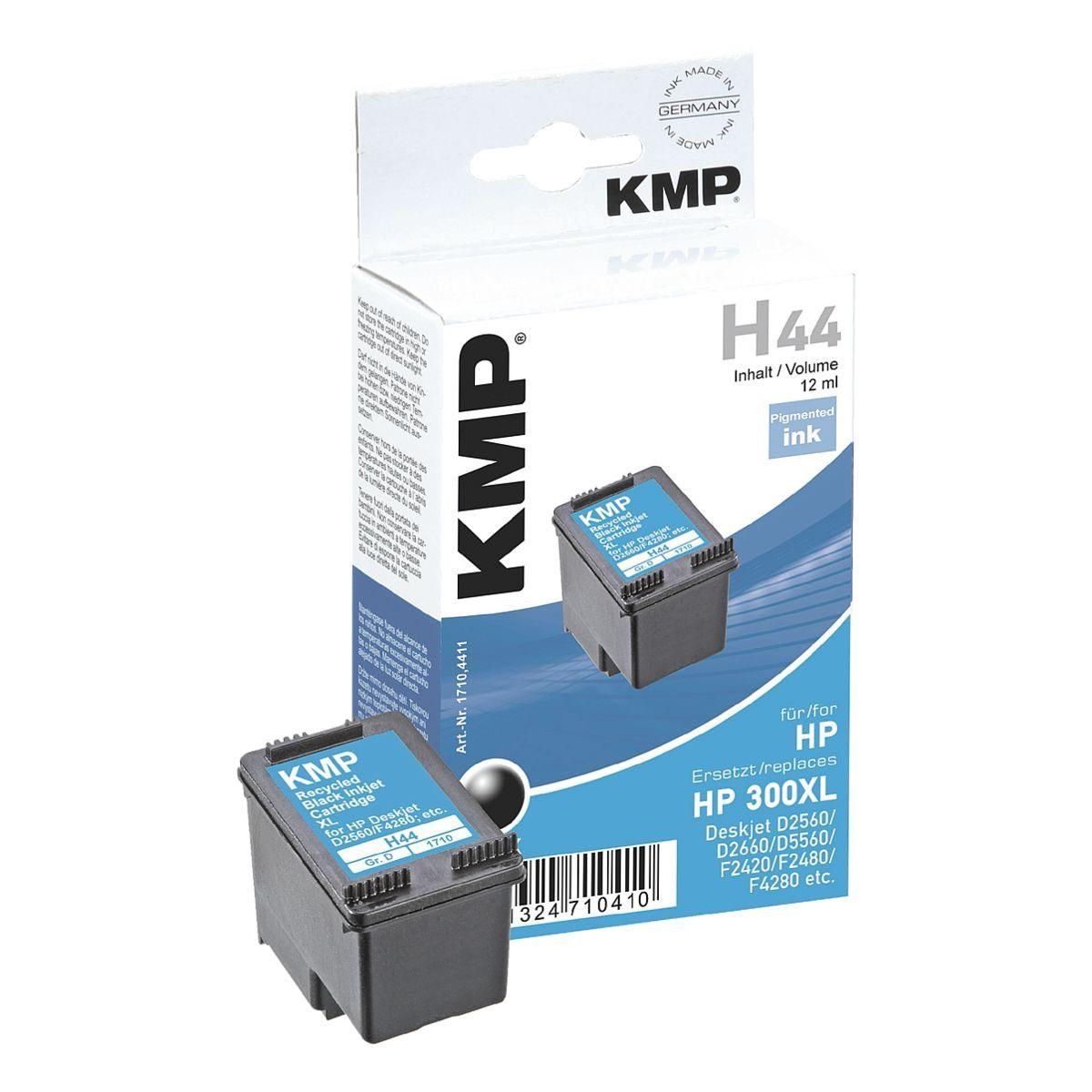 KMP Tintenpatrone ersetzt HP »CC641EE« Nr. 300XL