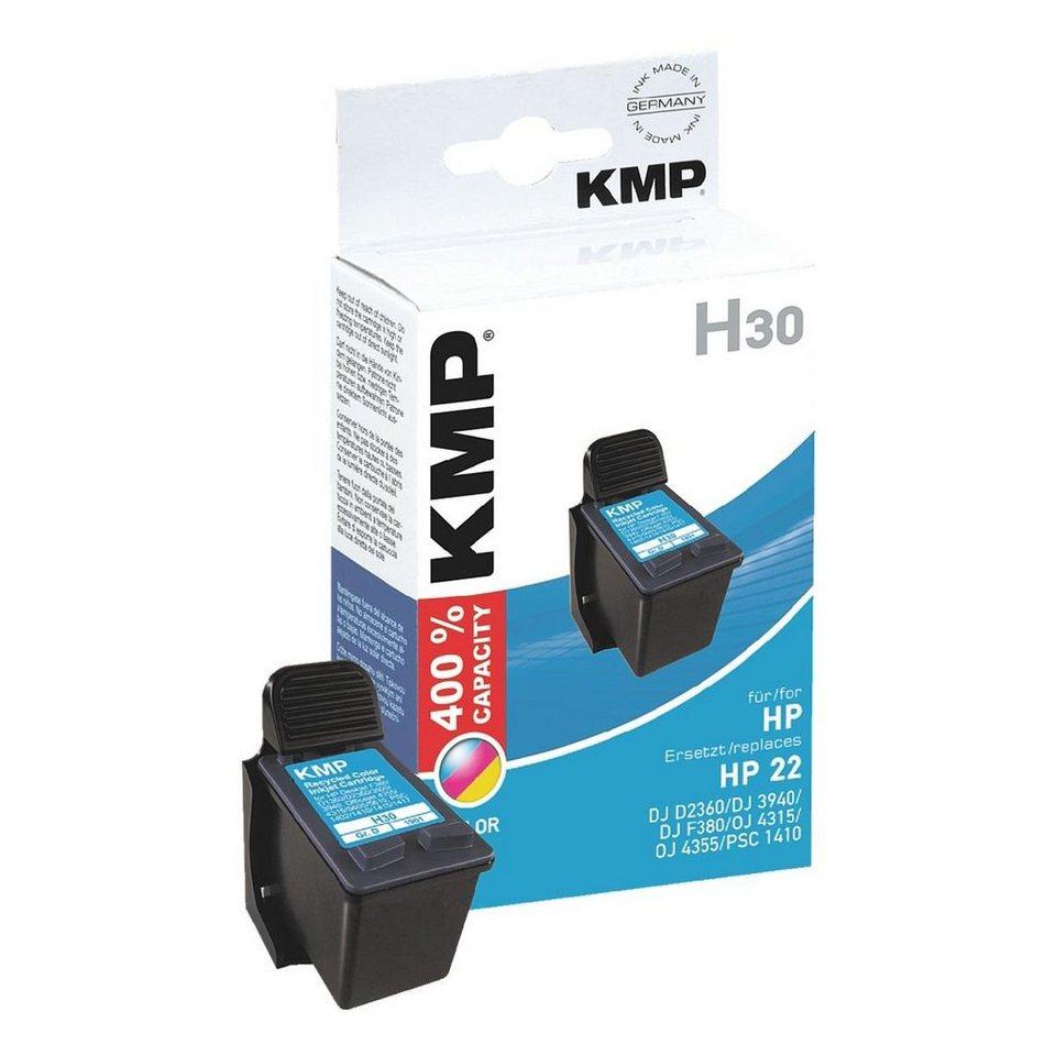 KMP Tintenpatrone ersetzt HP »C9352AE« Nr. 22