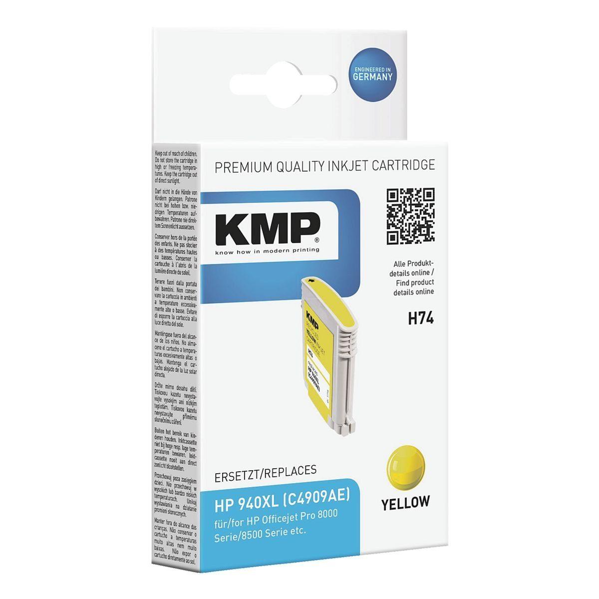 KMP Tintenpatrone ersetzt HP »C4909AE« Nr. 940XL
