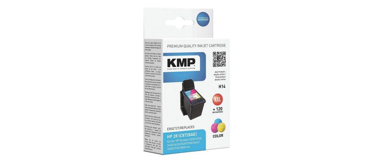KMP Tintenpatrone ersetzt HP »C8728AE« Nr. 28
