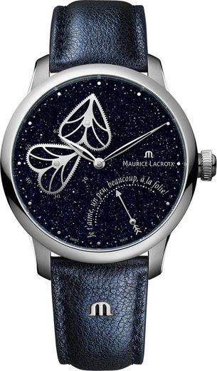 MAURICE LACROIX Schweizer Uhr »Masterpiece Embrace, MP6068-SS001-430-1«