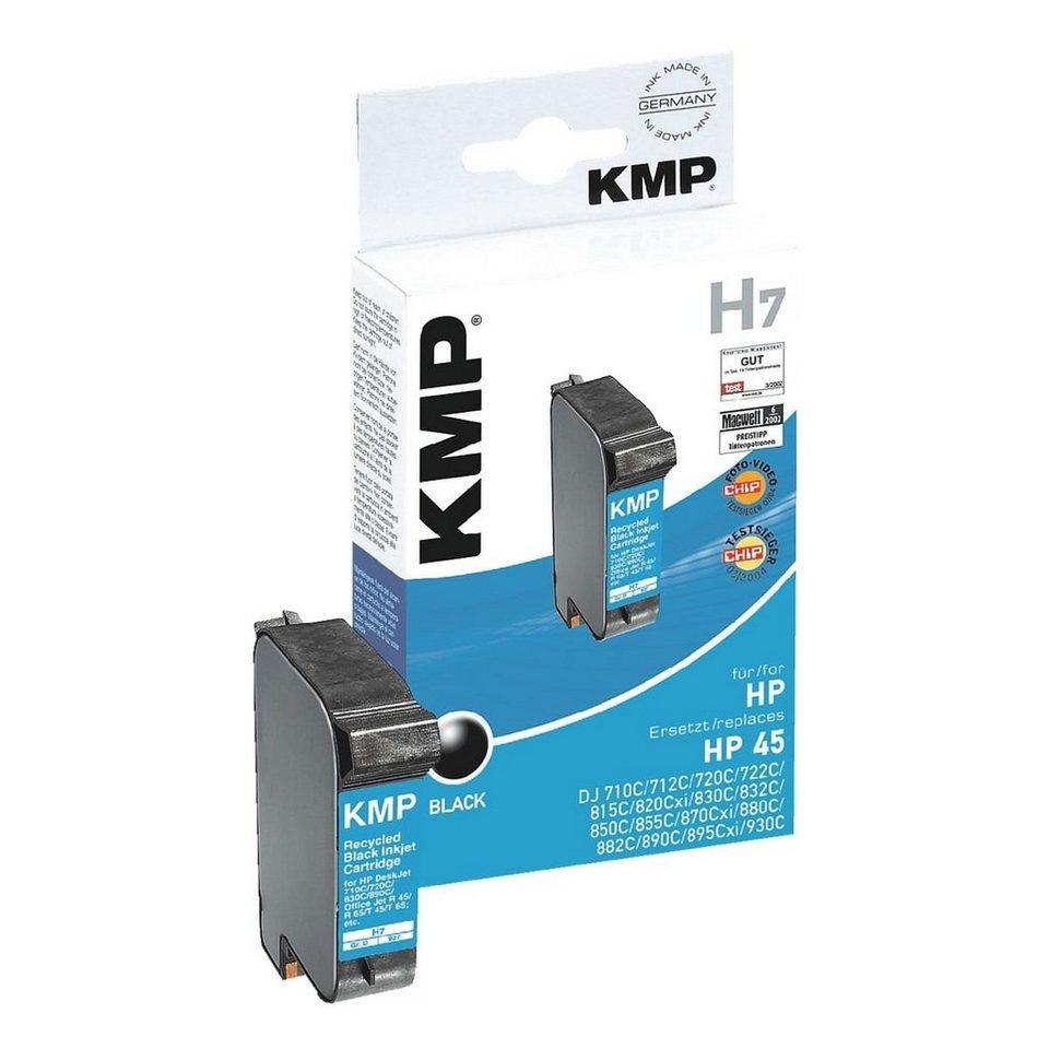 KMP Tintenpatrone ersetzt HP »51645GE« Nr. 45