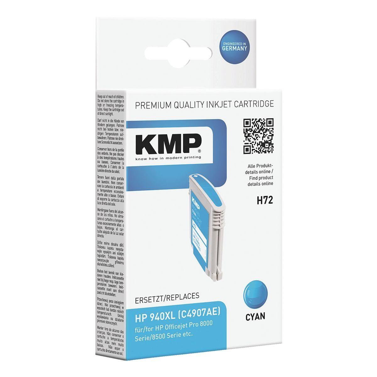 KMP Tintenpatrone ersetzt HP »C4907AE« Nr. 940XL