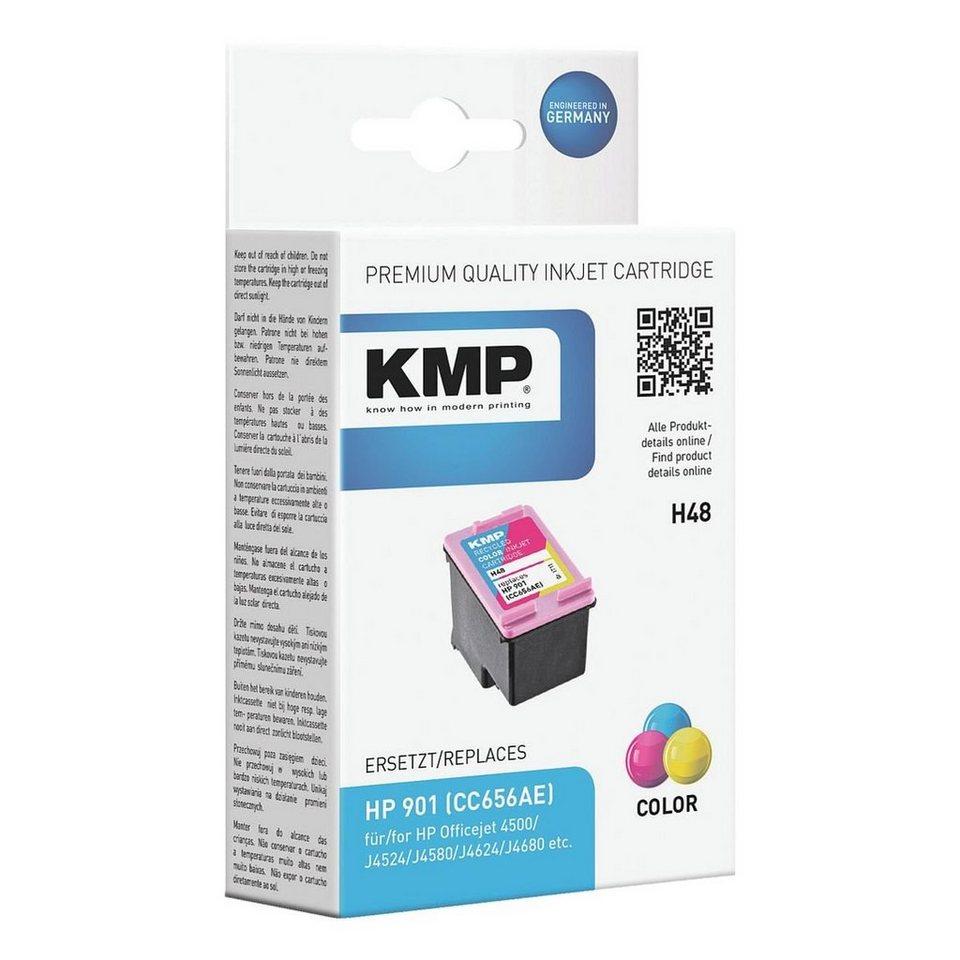 KMP Tintenpatrone ersetzt HP »CC656AE« Nr. 901