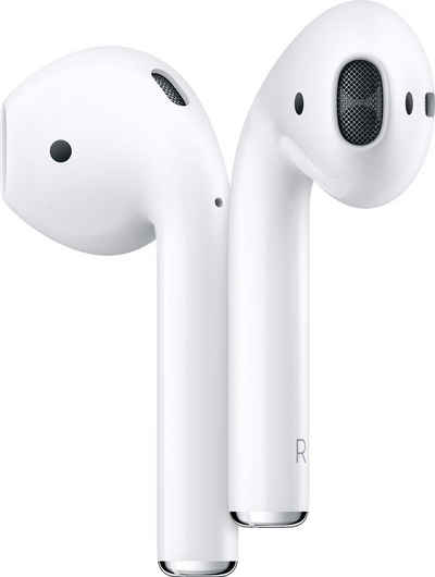 Apple »AirPods with Charging Case (2019)« In-Ear-Kopfhörer (Bluetooth, Kompatibel mit iPhone, iPhone XR, iPhone Mini, iPad Air / Mini / Pro, Watch SE, Series 6, Series 5, Series 4, Series 3, Mac Mini, iMac)
