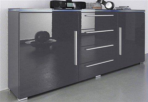 Sideboard Grau sideboard breite 135 cm kaufen otto