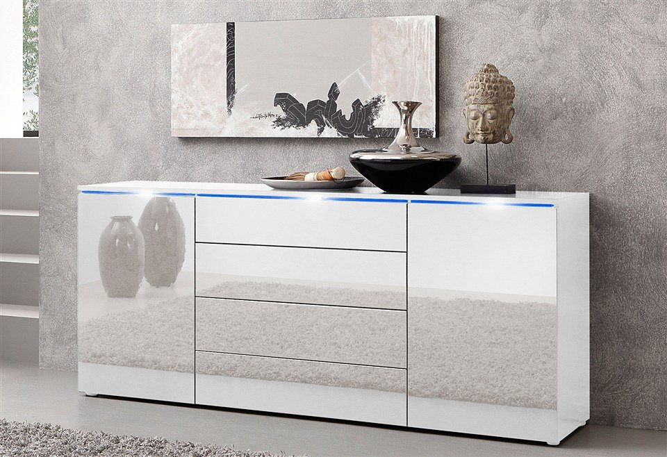 sideboard breite 166 cm online kaufen otto. Black Bedroom Furniture Sets. Home Design Ideas