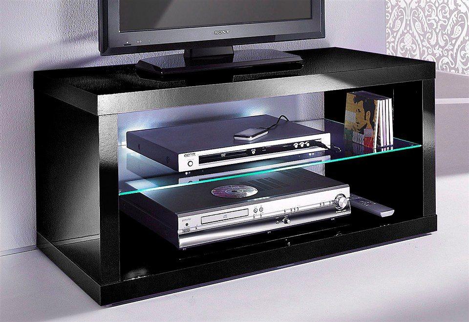 TV-Tisch, HMW Möbel, Breite 95 cm in schwarz