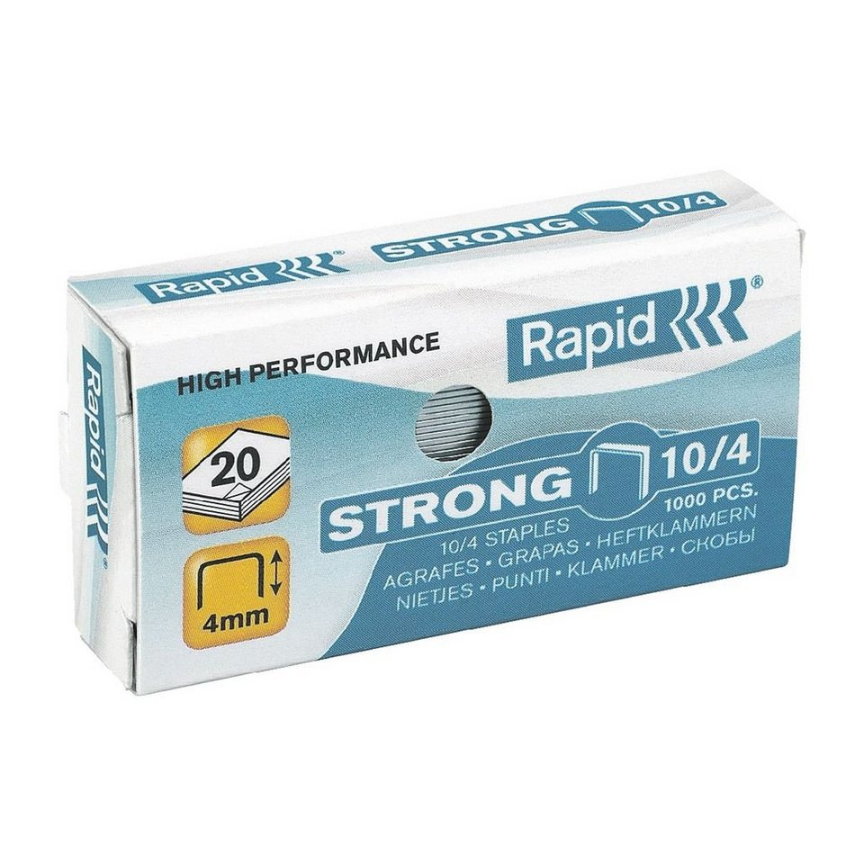 Rapid Heftklammern »No. 10 strong«