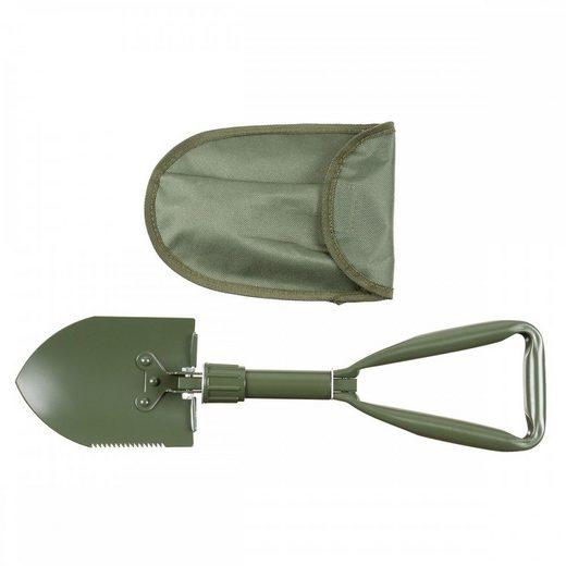 MFH Spaten »Klappspaten, 3-teilig, Mini, mit Nylontasche«, extra kompakter Klappspaten