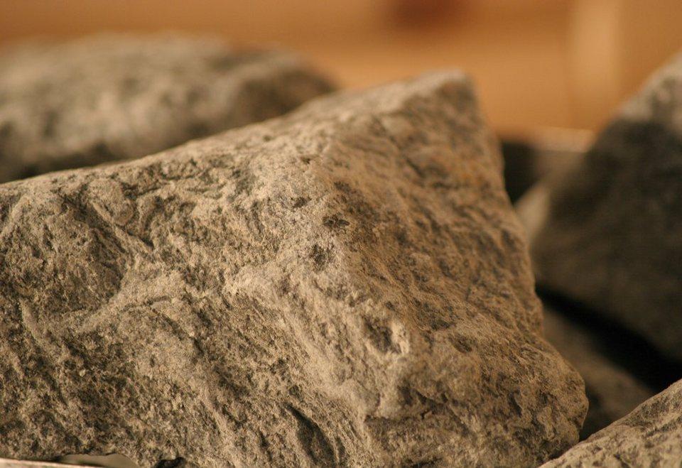 Saunasteine »Diabassteine« in grau