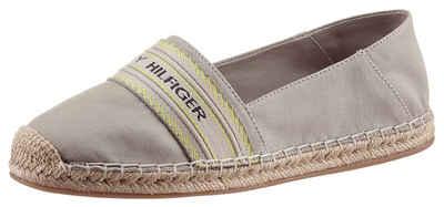 Tommy Hilfiger »TH ARTISANAL ESPADRILLE« Espadrille in schmaler Schuhweite, mit Ziernähten