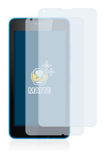 BROTECT Schutzfolie »für Microsoft Lumia 640«, (2 Stück), Folie Schutzfolie matt entspiegelt