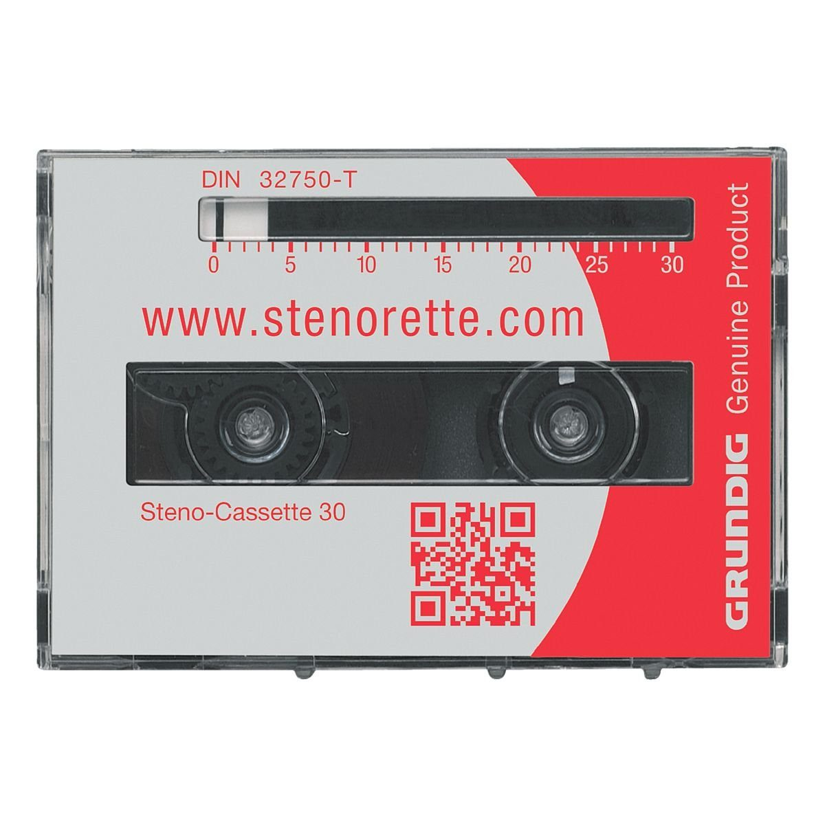 GRUNDIG Business Systems 5er-Pack Stenokassetten »30«