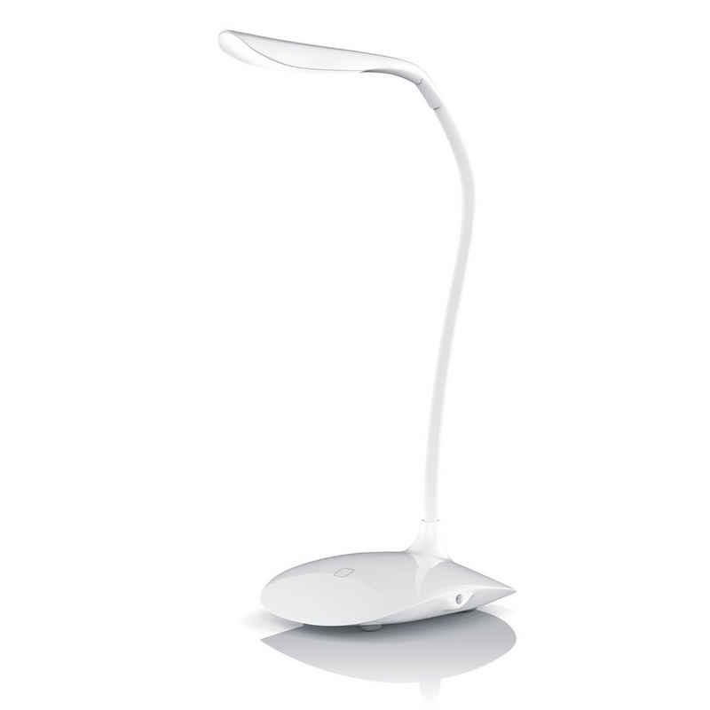 Brandson Schreibtischlampe, Stromsparende LED Schreibtischlampe 3 Helligkeitsstufen / Batteriebetrieb möglich