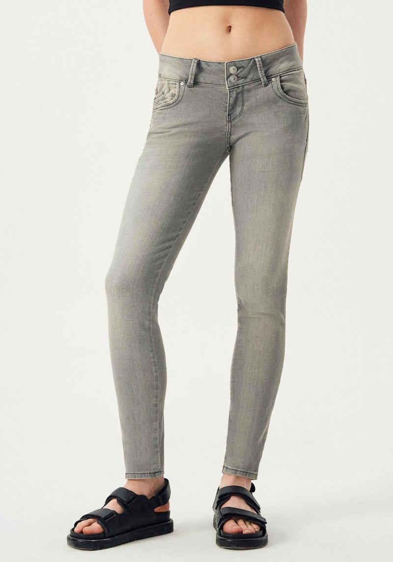LTB Slim-fit-Jeans »MOLLY« mit Doppelknopf-Bund