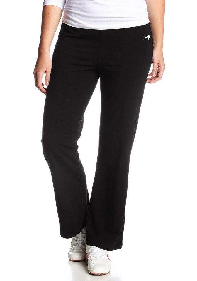 KangaROOS Jazzpants in schwarz