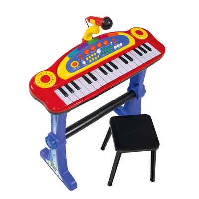 SIMBA Spielzeug-Musikinstrument »Standkeyboard mit Mikrofon«