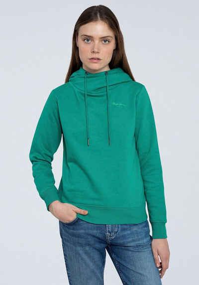 Pepe Jeans Sweater »ALICIA« tollem Kragen zum Binden