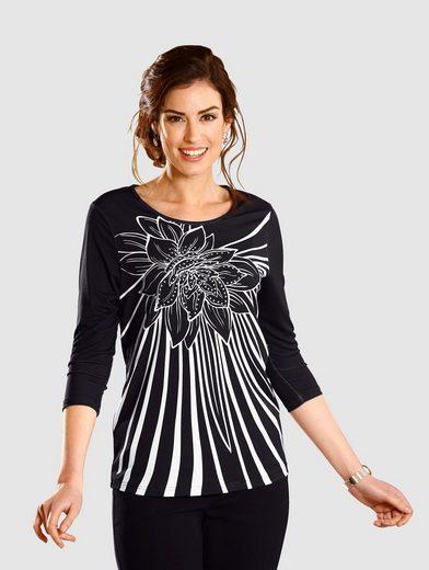 Paola Shirt mit Druck und Ziersteine