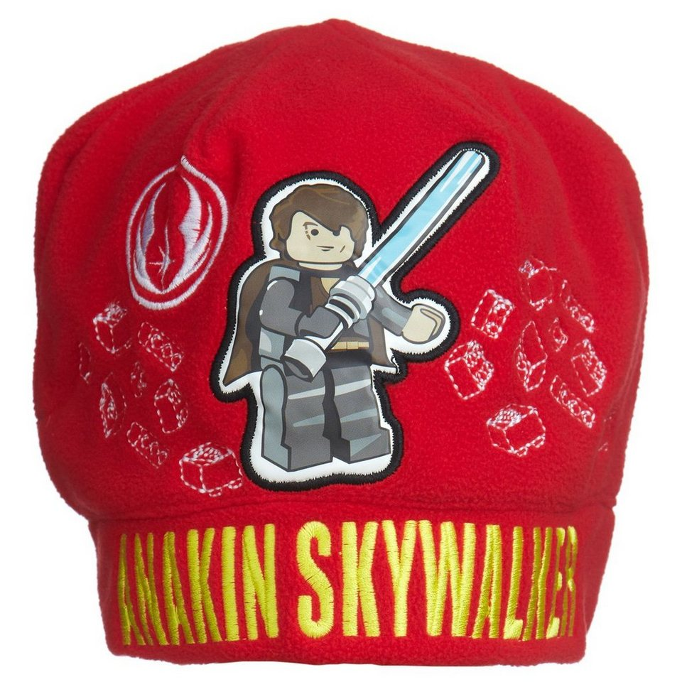 LEGO Wear Kinder Mütze Adam Annakin Skywalker in rot