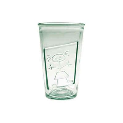 "the way up Glas »6 x Trinkgläser Girl ""Sylwi"" 300 CC aus Recycling-Glas (100 % Altglas)«"