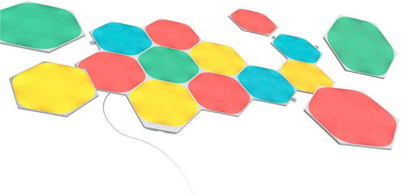 nanoleaf LED Panel »Nanoleaf Shapes Hexagons Starter Kit 15 PK«