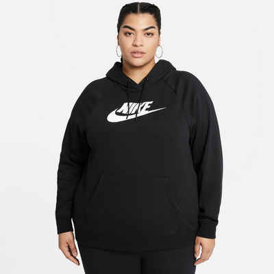 Nike Sportswear Kapuzensweatshirt »W Nsw Essntl Hdy Flc Hbr Plus Size«